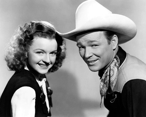 Dale Evans and Roy Rogers in The Yellow Rose of Texas Photo