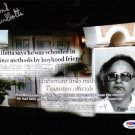 Mobster Frank Cullotta Signed Photo PSA/DNA Authenticated!