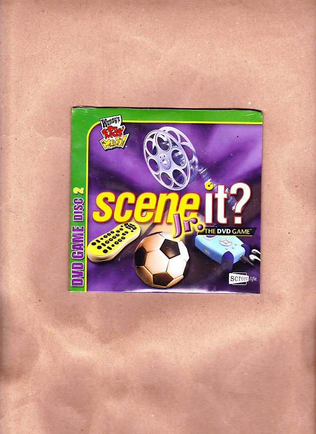 Scene It? Jr, The DVD Game, Wendy's Kids' Meal, DVD Game Disc 2, Screen Life