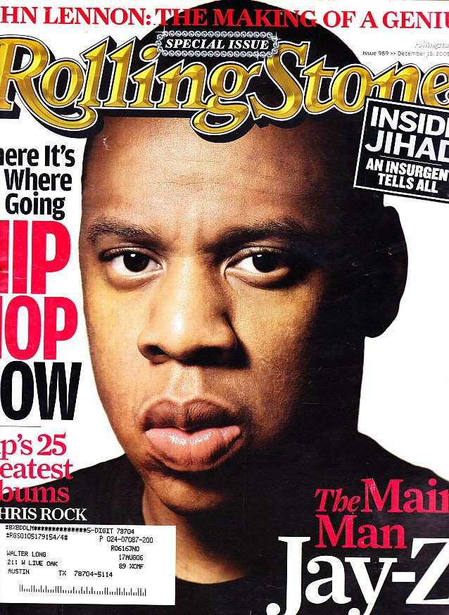 Rolling Stone Magazine, December 15, 2005
