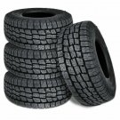 4 Lionhart LIONCLAW ATX2 LT265/70R17 121/118S 10P AS M+S All Terrain Truck Tires