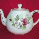 Wood & Sons Ellgreave English Rose Ironstone Teapot