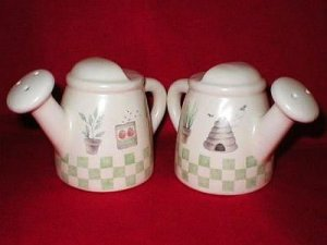 Sonoma Mini Watering Can Salt & Pepper Shakers