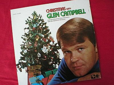 Christmas With Glen Campbell Vinyl LP Record