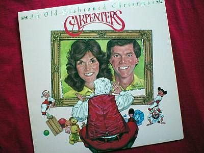 Carpenters An Old Fashioned Christmas LP Record