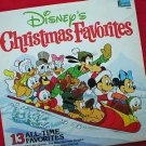 Disney's Christmas Favorites Vintage 1979 LP Record