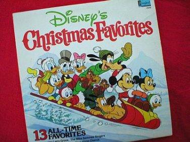 Disney's Christmas Favorites Vintage 1979 LP Record