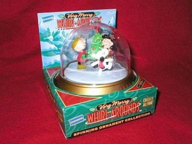 Peanuts Charlie Brown Whirl-Arounds Holiday Ornament