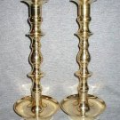 Large Solid Brass Candle Holder Candlesticks