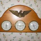 American Eagle Barometer Thermometer Weather Station