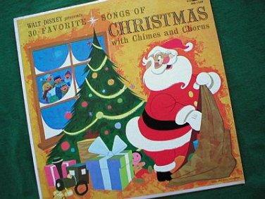 Disney's 30 Favorite Songs of Christmas 1963 Record