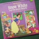 Disney's Snow White and the Seven Dwarfs LP Record