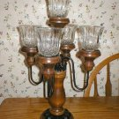 Home Interiors Vintage 5-Light Wood Candelabra