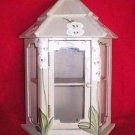 Mini Hand Crafted Curio Cabinet Display Shelf