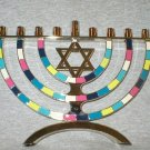 Star of David Hanukkah Menorah 9-Light Candle Holder