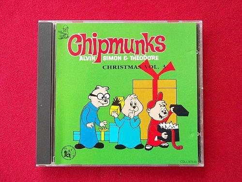 Chipmunks Christmas Volume 3 Holiday Music CD