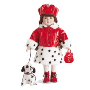 Doll And Her Dog