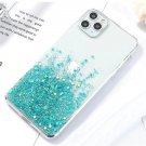 Bling Glitter Case For iPhone 12, 12 pro Cases Luxury Silicone Cover On iPhone Phone Covers Green