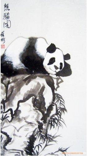 Chinese Original Painting Panda