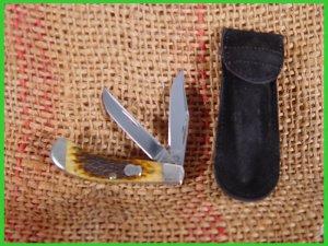 Case Bros. Cutlery Co. Pocket Knife 2 Blade Saddlehorn