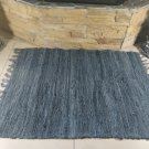 Rustic Fireproof Fireplace Carpet Gray Hearth Fire Resistant Mat Rug