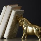 Pascal the Bull Gold DoorStop/Bookend