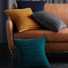 Velvet Sofa Pillows