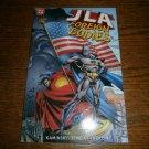 JLA: Foreign Bodies by Len Kaminski & Dan Raspler - Paperback, DC Comics 1999