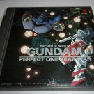 Mobile Suit Gundam Perfect One Year War -Bandai 1997 - Sony Playstation 1 NTSC-J