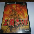 Romance of the Three Kingdoms VII - Koei 2000 - Sony Playstation 2 NTSC-J