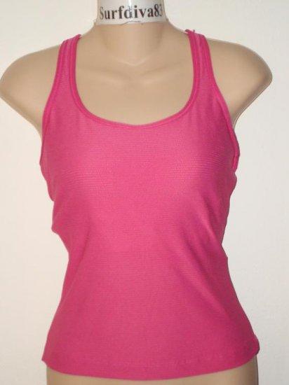 Nwt L 12-14 NIKE DRI-FIT Women Tank Top Shirt New Yoga Large Pink