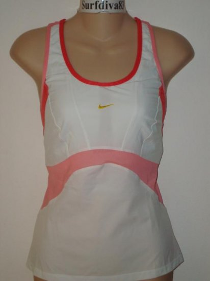 Nwt L NIKE DRI-FIT Women Cool Motion Top New Tennis Large