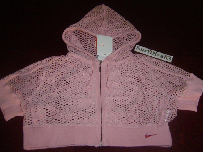 NwT XS NIKE DRI-FIT DANCE Hoody Women Jacket New $70 Xsmall Pink