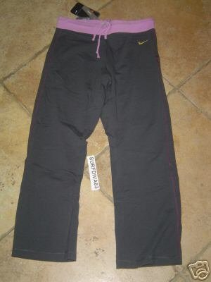 NwT XS 0-2 NIKE Yoga Tennis Capri Pants New Women HOT
