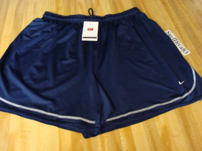 NwT XL NIKE Dri-fit Navy Tiempo Soccer Shorts Men New
