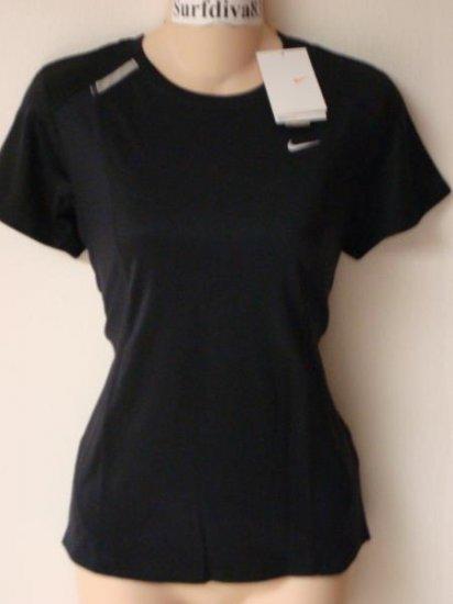 Nwt XS 0-2 NIKE DRI-FIT Reflective Women Top Shirt New X-small