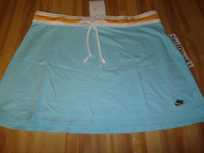 NwT M 8-10 NIKE DRI-FIT Women Tennis Camp Skirt New $35