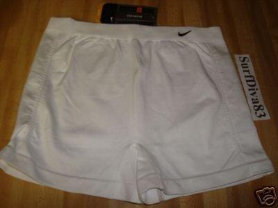 NwT M L NIKE Women DRI-FIT Tennis Compression Shorts New Medium Large