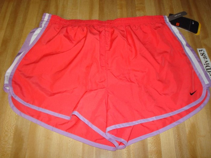 NwT XL NIKE DRI-FIT Women TRack Running Shorts NeW Run Xlarge