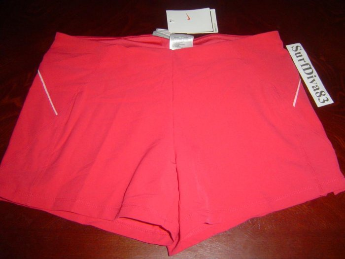 NwT XL NIKE DRI-FIT Women INTENSITY Tennis Shorts New Xlarge