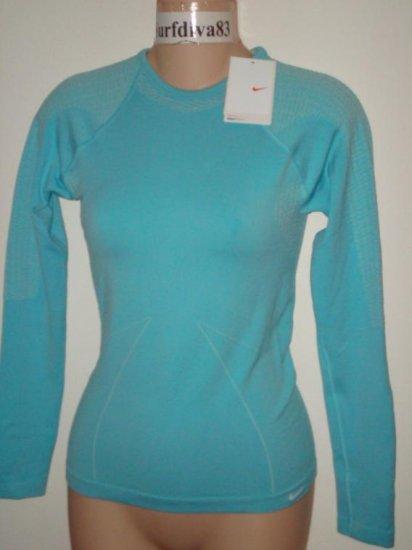 Nwt S M NIKE Dri-fit Core Warmer Top Shirt New Women Small Medium