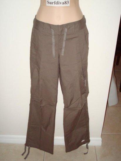 Nwt M 8 10 NIKE Brown Dance WorkOut Women Pants New Medium
