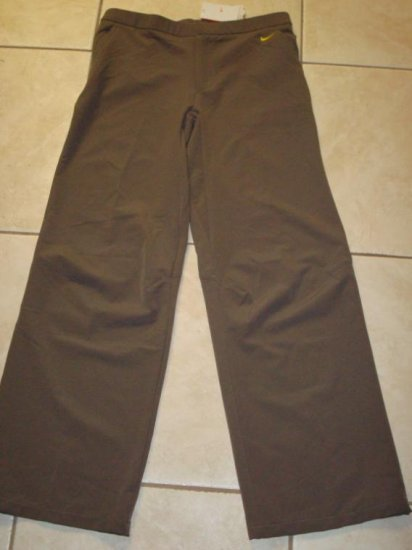 Nwt L NIKE DRI-FIT Pinnacle Woven Women Pants New $75 Large