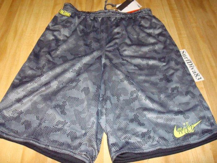 NwT S NIKE Dri-fit Camo Reversible Pre Shorts Men New Small