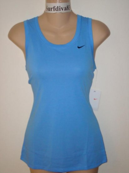 Nwt 2XL NIKE DRI-FIT Women Fitness Tank Top Shirt New XXL Blue