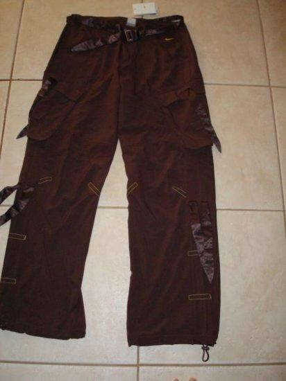 Nwt M NIKE Dri-fit Women Necessary Cargo Pants New Medium Brown Dance