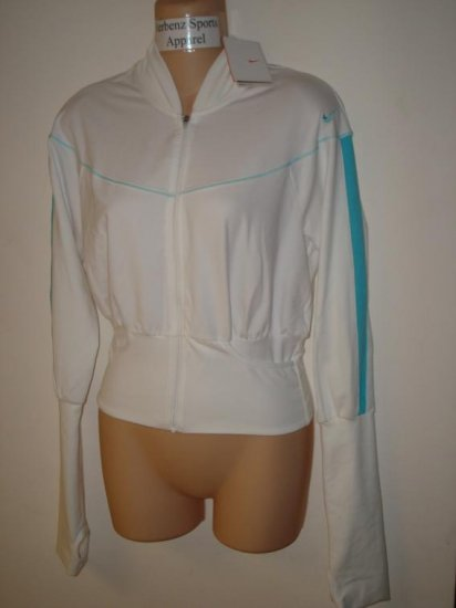 Nwt S NIKE Women Fit Dry Pinnacle Dance Jacket New $80 Small White