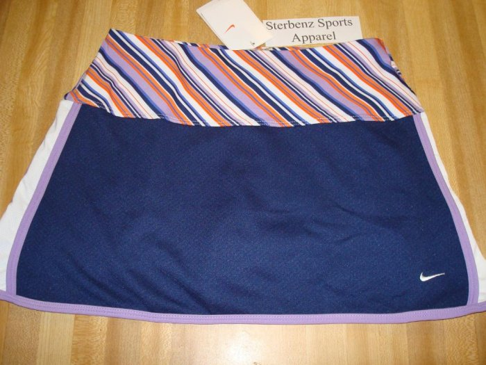 Nwt L NIKE GIRL Control Tempo Tennis Skirt Scooter New Large 207653-450