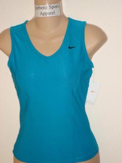 Nwt XS NIKE Women Fit Dry Club Sleeveless Top Shirt New Xsmall 225647-309