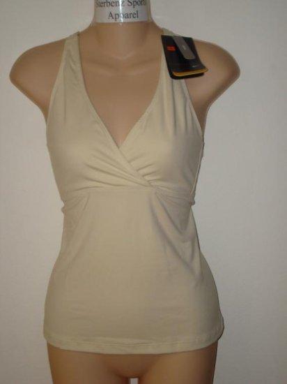 Nwt M NIKE Women Fit Dry Yoga Wrap Tank Top Shirt New Medium 106849-221
